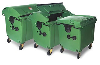 Afvalcontainer afmetingen